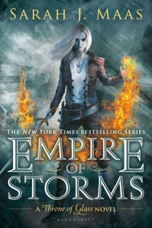 Reading books Empire of Storms (Throne of Glass, #5)