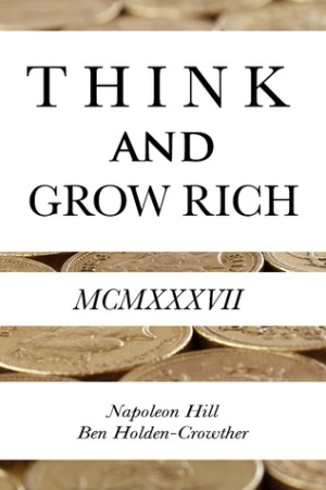 Reading books Think and Grow Rich