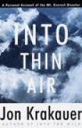 Download Into Thin Air: A Personal Account of the Mount Everest Disaster pdf / epub books