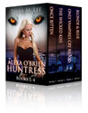 Alexa O'Brien Huntress Book 1-4