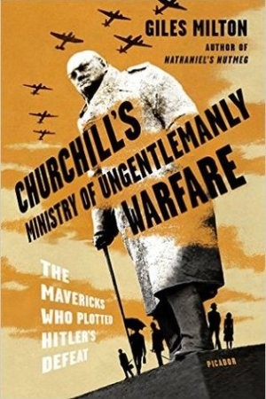 Reading books Churchill's Ministry of Ungentlemanly Warfare: The Mavericks Who Plotted Hitler's Defeat