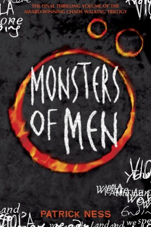 Reading books Monsters of Men (Chaos Walking, #3)
