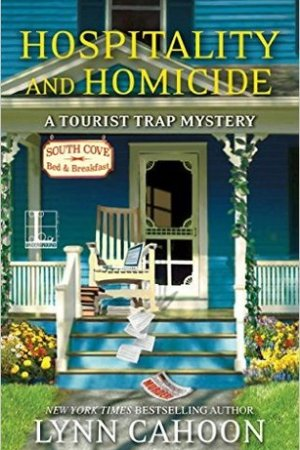 Reading books Hospitality and Homicide (A Tourist Trap Mystery, #8)