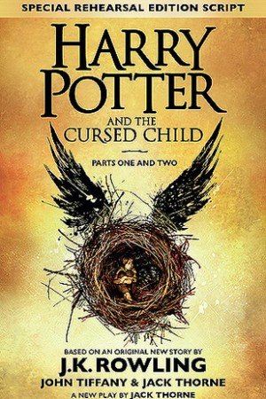 Reading books Harry Potter and the Cursed Child - Parts One and Two (Harry Potter, #8)