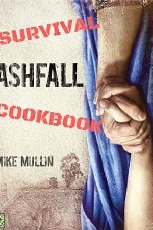 Reading books Ashfall Survival Cookbook