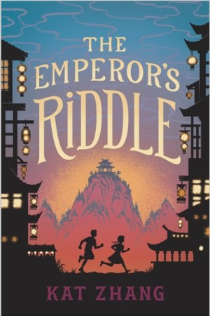 Reading books The Emperor's Riddle