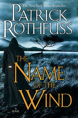 Reading books The Name of the Wind (The Kingkiller Chronicle, #1)