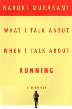 Reading books What I Talk About When I Talk About Running