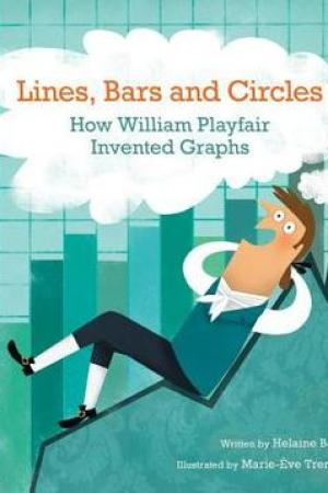 Reading books Lines, Bars and Circles: How William Playfair Invented Graphs