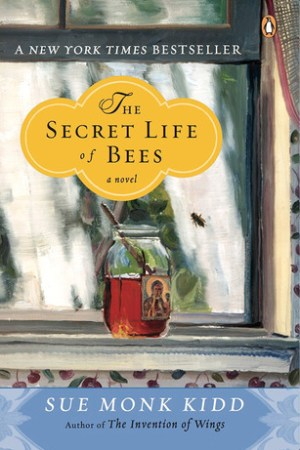 Reading books The Secret Life of Bees