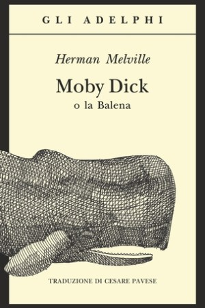 Reading books Moby Dick o la Balena
