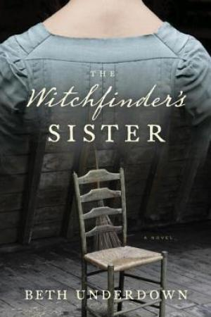 Reading books The Witchfinder's Sister