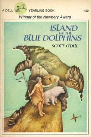 Reading books Island of the Blue Dolphins (Island of the Blue Dolphins, #1)
