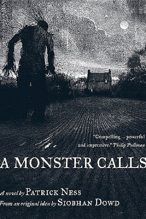 Reading books A Monster Calls