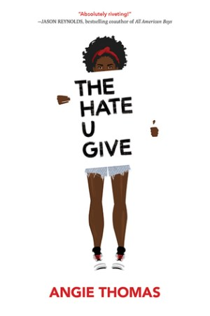 Reading books The Hate U Give