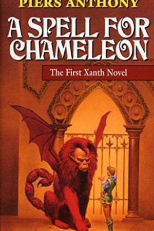 Reading books A Spell for Chameleon (Xanth #1)