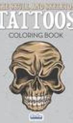 The Skull and Skeleton Tattoos Coloring Book