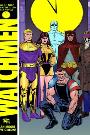 Reading books Watchmen: International Edition