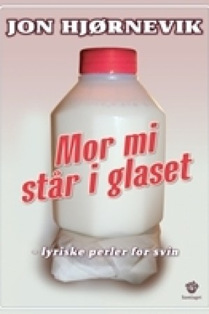 Reading books Mor mi str i glaset