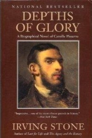 Reading books Depths of Glory: A Biographical Novel of Camille Pissarro