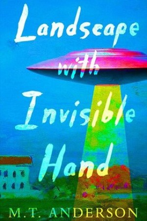 Reading books Landscape with Invisible Hand