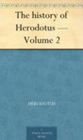 The history of Herodotus Volume 2