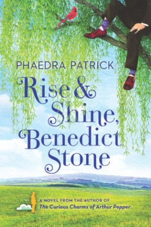 Reading books Rise and Shine, Benedict Stone