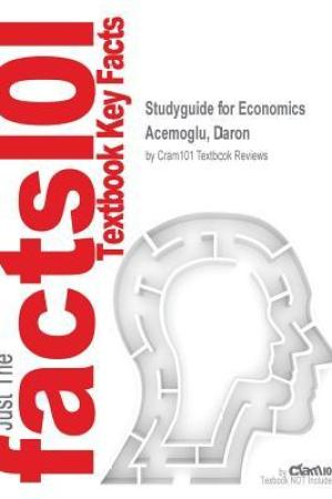 Reading books Studyguide for Economics by Acemoglu, Daron, ISBN 9780133499025
