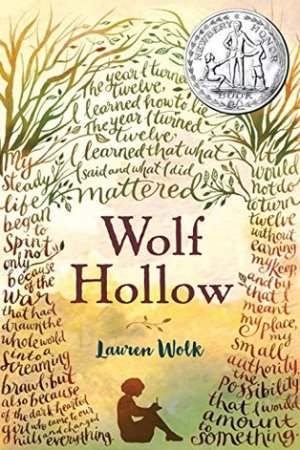 Reading books Wolf Hollow