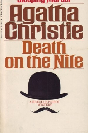 Reading books Death on the Nile