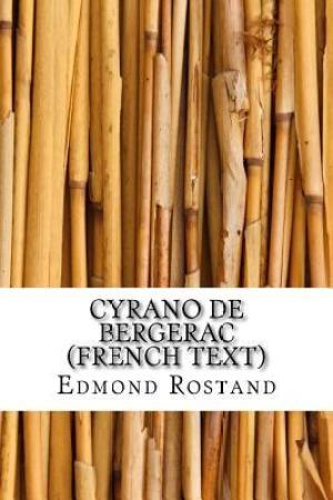 Reading books Cyrano de Bergerac (French Text)