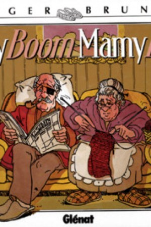 Reading books Papy Boom, Mamy Blue