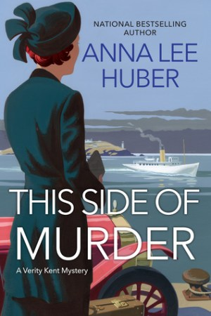 Reading books This Side of Murder (Verity Kent, #1)
