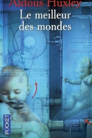 Reading books Le meilleur des mondes