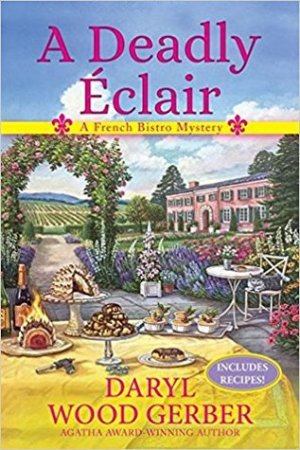 Reading books A Deadly clair (A French Bistro Mystery, #1)