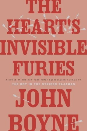 Reading books The Heart's Invisible Furies