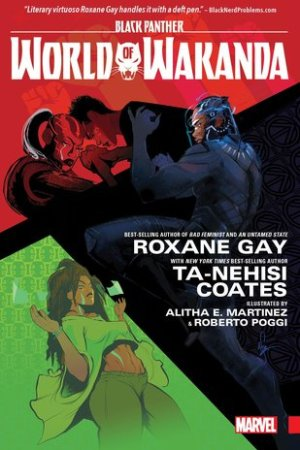 Reading books Black Panther: World of Wakanda