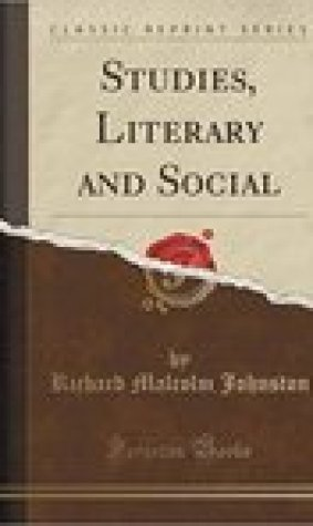Studies, Literary and Social