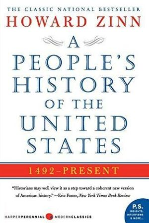 Reading books A People's History of the United States