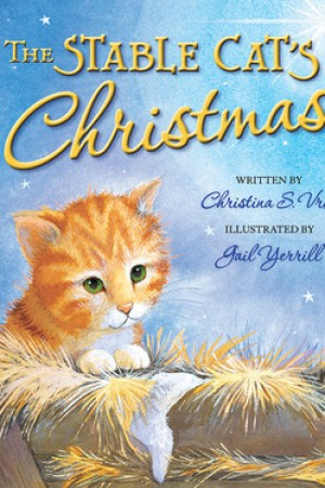 Reading books The Stable Cat's Christmas