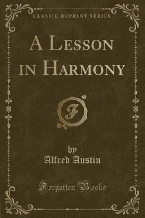 Reading books A Lesson in Harmony (Classic Reprint)
