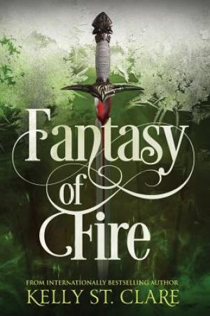 Reading books Fantasy of Fire
