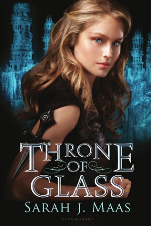 Reading books Throne of Glass (Throne of Glass, #1)