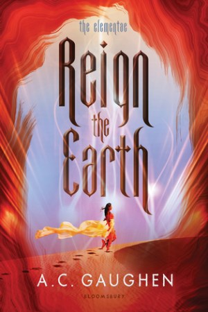 Reading books Reign the Earth (The Elementae, #1)