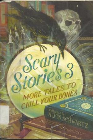 Reading books Scary Stories 3: More Tales to Chill Your Bones