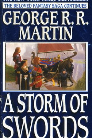Reading books A Storm of Swords (A Song of Ice and Fire, #3)