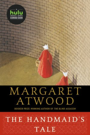 Reading books The Handmaid's Tale