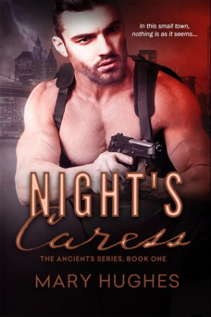 Reading books Night's Caress (The Ancients #1)