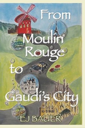 Reading books From Moulin Rouge to Gaudi's City (Someday Travels Book 1)
