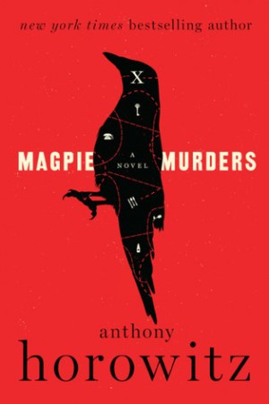 Reading books Magpie Murders
